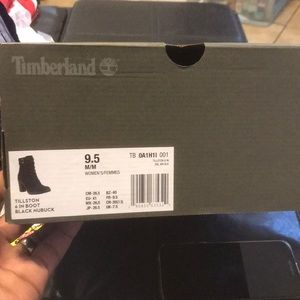 Timberlands shoe boot